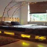 Праздничные огни для оформления спальни