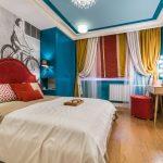 Разнообразие красок для спальни творческих личностей