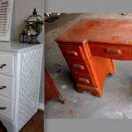 реставрация старой мебели своими руками-изображения