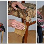 реставрация стульев и декор