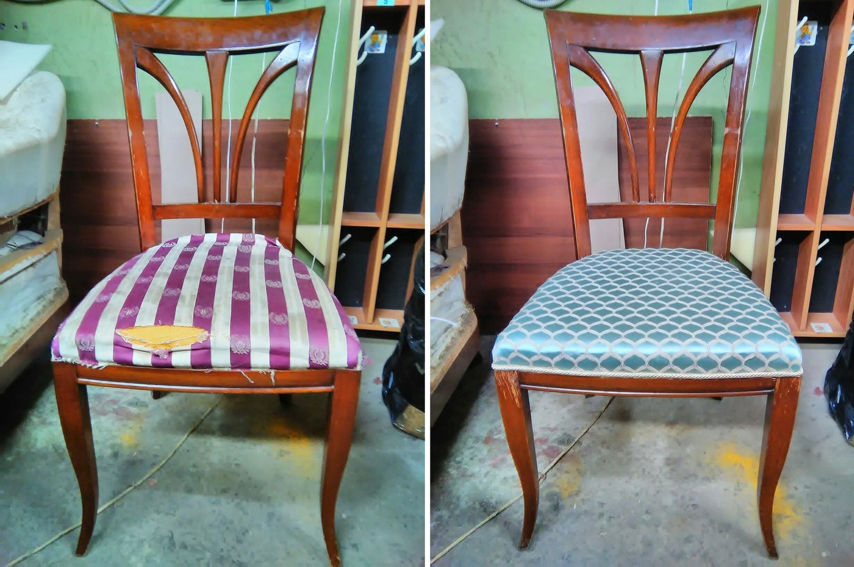Отремонтировать стулья своими руками 33