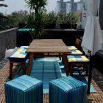 Самостоятельное оформление мебели для веранды в одном стиле