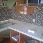 сборка кухни из мебельных щитов