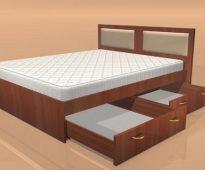сделать кровать из ДСП своими руками