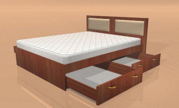 Как сделать кровать своими руками из дерева - пошаговая 18