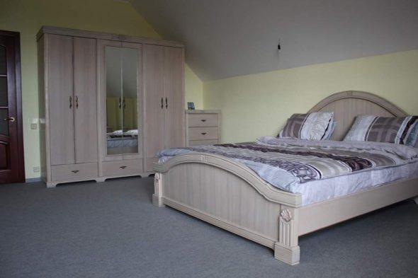 Спальня деревянная из массива ясеня