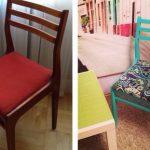 старий стул до реставрации