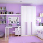 Стильная небольшая комната для девочки подростка