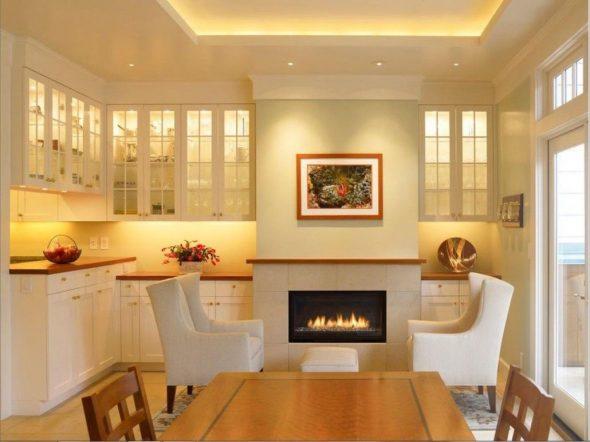 Светодиодные светильники на кухне