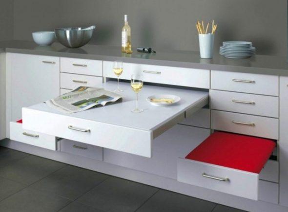Удобные напольные шкафы в интерьере