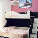 Уютная спальня в маленькой квартире