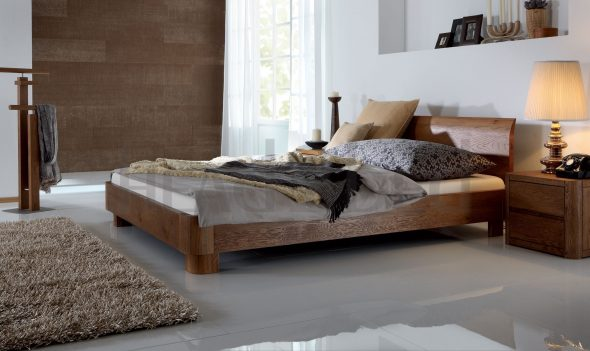 Уютная спальня в скандинавском стиле