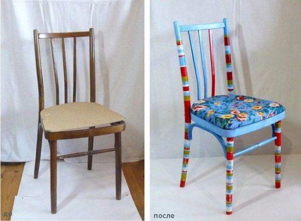 вдохновляющие примери переделки старой советской мебели