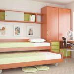 Выдвижны кровати для двоих детей