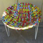 Плетеное кресло своими руками