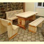 Деревянная мебель необычной формы своими руками