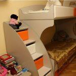 """Детская кровать-чердак """"Пионер"""""""