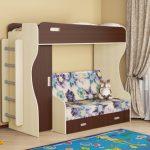 Детская кроватка-чердак