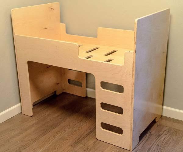 Мебель в детскую своими руками из фанеры 18