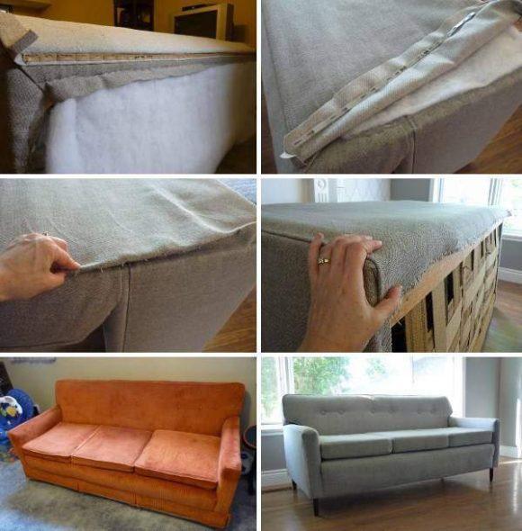 Ремонт пружинного блока дивана своими руками фото 979
