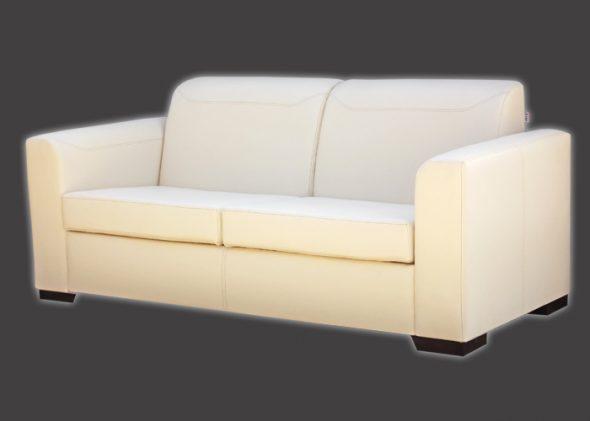 Кожаный мягкий диван Такано