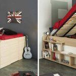 Дизайнерская кровать-кладовка