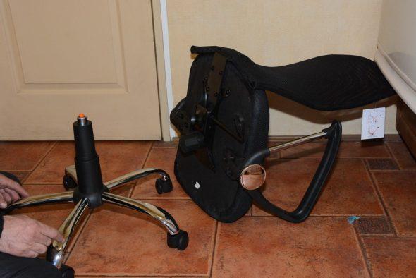 Две составные части кресла