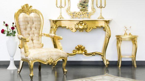 Эксклюзивная мебель в стиле барокко