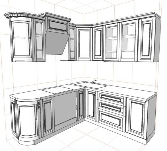 Собираем кухонный гарнитур своими 40