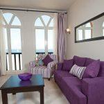 Фиолетовая полоска для мягкой мебели и текстиля