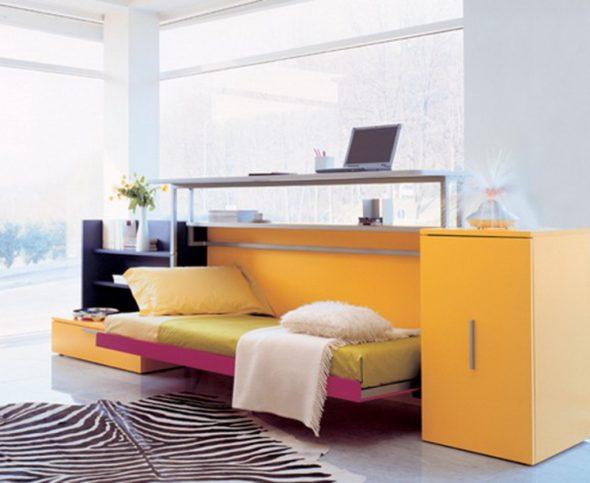 Функциональная кровать-стол