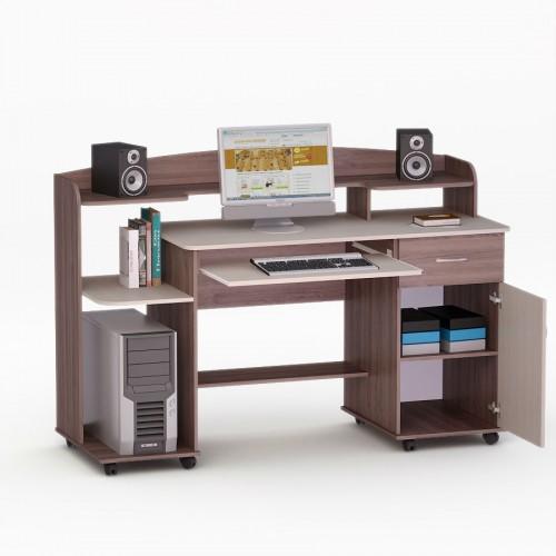 Компьютерный стол лесной орех