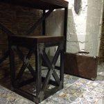 идеи мебели из профильной трубы