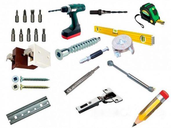 Инструменты для сборки гарнитура