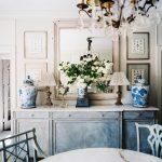 Интерьер кухни после реставрации мебели
