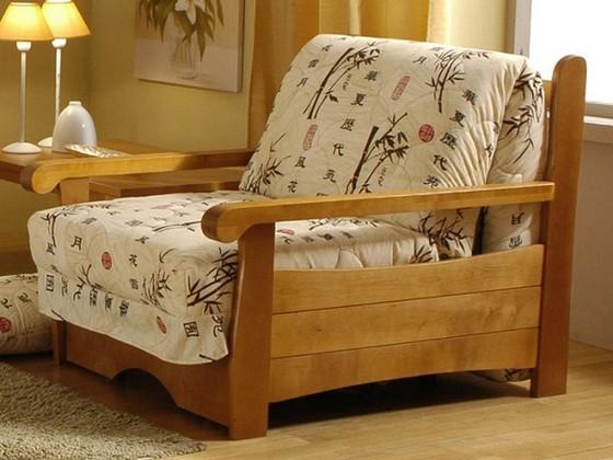 Каркас из дерева для кресла-кровати