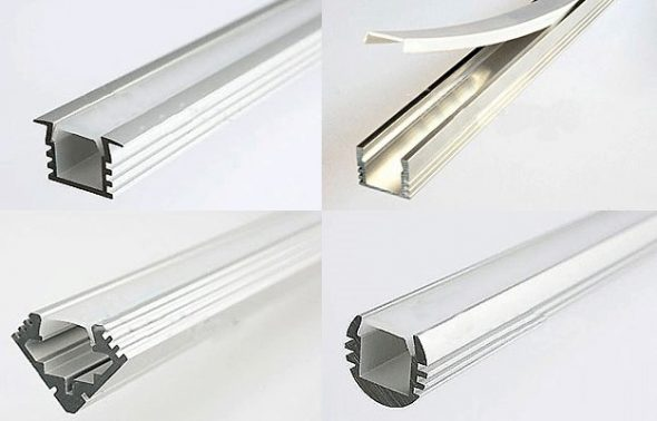 Короб или плинтус для светодиодной ленты