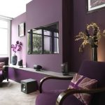 Королевский эффект фиолетового цвета