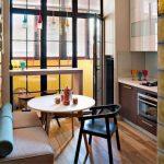 Красивая мебель для обеденной зоны