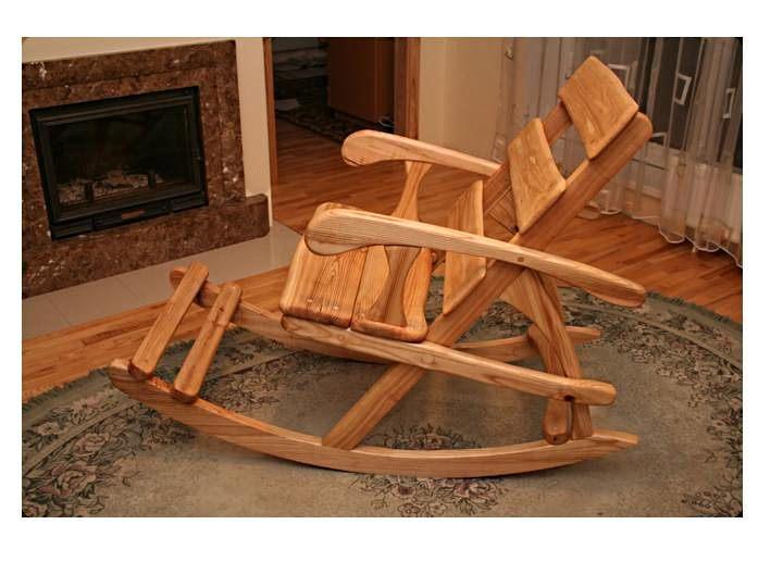 Дачная кресло качалка своими руками