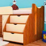 """Кровать """"Кроха"""" с шкафом внизу"""