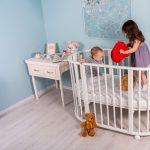 Кровать-манеж для игр и сна