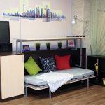 Кровать-стол для комнаты взрослого подростка