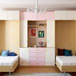 Кровати-шкафы для двух девочек