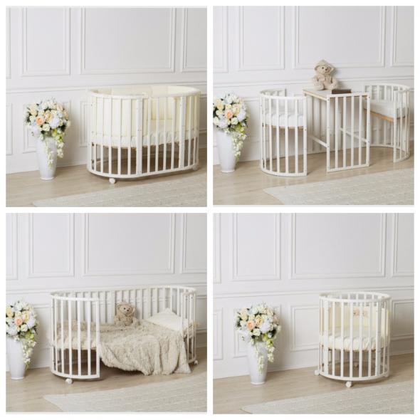 Кроватка-трансформер для малыша