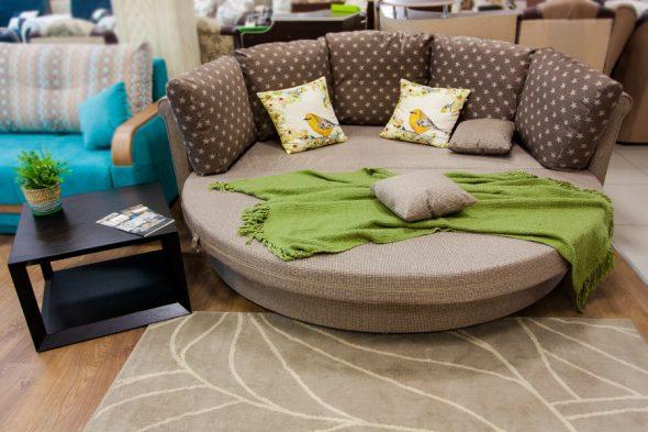 Круглый диван-кровать «Ольборг»