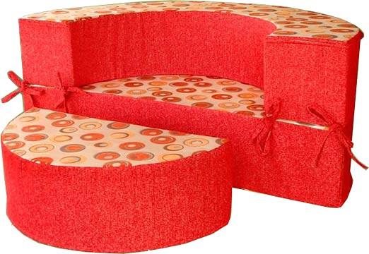 Круглый диван-кровать Версаль - классический вариант