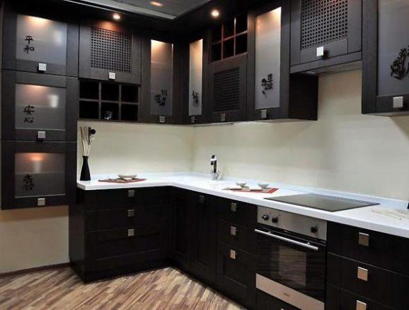 Кухня с оригинальным дизайном