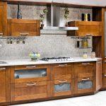 Кухонный гарнитур из бука своими руками