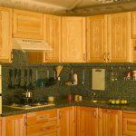Кухонный гарнитур из сосны своими руками